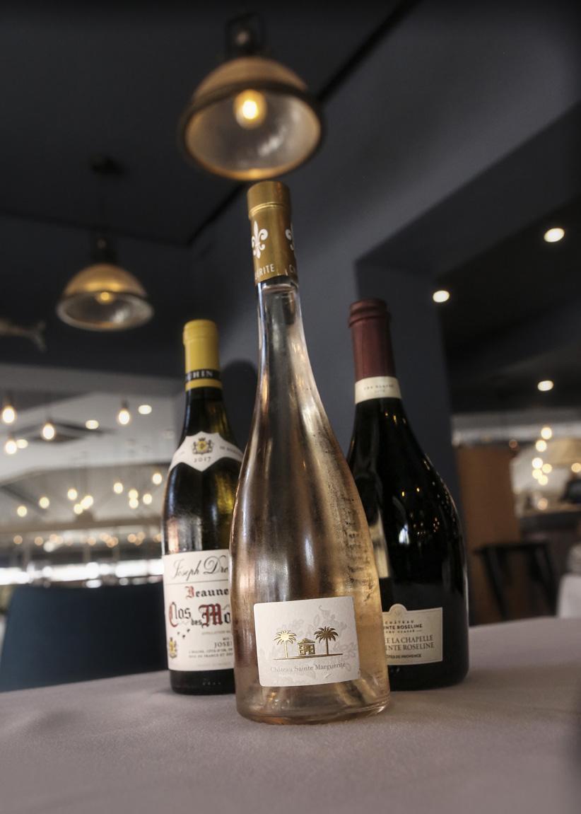 Les boissons au Restaurant L'Institution by Brocherie Mandelieu à Juan-les-Pins